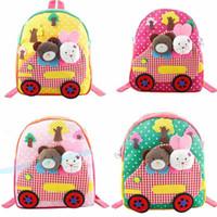 Wholesale Children backpacks baby Kids Handmade Cartoon boy and girl Backpack Schoolbag school bags Satchel book bag