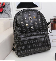 Wholesale Housing tower room mcm dee rivet shoulder bag with the money