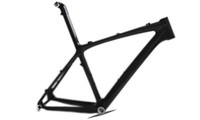 Wholesale MTB Carbon Fiber Mountain Bike Frame With K Weave Clear Coating BSA Bottom Bracket For ER Wheel AC016