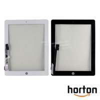 Wholesale Digitizer Touch Screen Pannel for the new iPad Black White Glass Faceplate Repair Part Replacement AF057