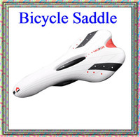Wholesale Salable product white Bicycle Saddle Seat VADER MTB ROAD ventilate comfort saddle worldwide Free
