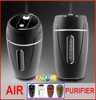 Wholesale Air purifier Humidifier MINI USB Humidifier ml m Space Car Office Home multipurpose mist humidifier colors option KK GGG