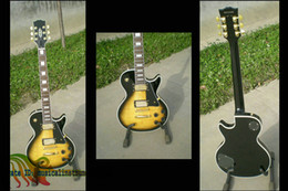 Custom shop vos Guitar Black yellow Burst Electric Guitar Accept custom wholesale guitars from china