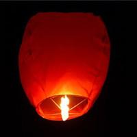 2013 ECO Sky lanternes Chine souhaitent Ballons ignifuge flying balloon chinoise Kongming Lanterne Souhaitant lampe pour la lumière BI Donghkongmin
