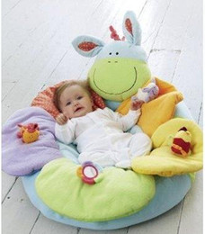 Wholesale 1pcs Blue Color ELC Blossom Farm Sit Me Up Cosy Baby Play Mat Nest Infant Seat Inflatable Sofa Kid s Toy colors for options