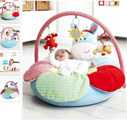 Wholesale Promotion In Stock ELC Blossom Farm Sit Me Up Cosy Baby Seat NEW DESIGNER Play Mat Small Baby game pad kid play gym cushion matts