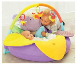Wholesale Promotion IN stock Purple Color ELC Blossom Farm Sit Me Up Cosy Baby Play Mat Nest Infant Seat Inflatable Sofa Kid s Toy