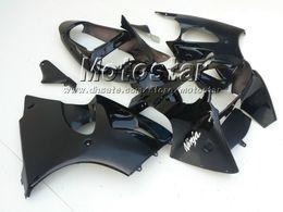 Flat matte + glossy black fairings kit FOR Kawasaki fairing kit Ninja ZX6R 636 2000 2001 2002 ZX-6R 00 01 02 ZX 6R ZX-6