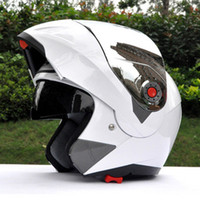 al por mayor venta caliente de la motocicleta-2016 venta caliente JIEKAI 105 cascos de moto desenvolverá casco casco de la motocicleta de la lente doble del camino