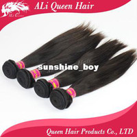 Wholesale Queen hair products queen brazilian straight brazilian virgin hair mixed length each size