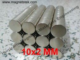 Wholesale 50PCS Neodymium N38 Magnets Dia mm x mm Thick NdFeB permanent rare earth magnets In Stock
