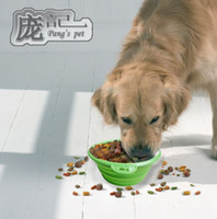 Wholesale Collapsible Silicone Travel Pet Bowl Dog Dish Feeder non toxic