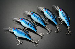 Fishing Lure Minnow VIB pencil Cranbaits Bass Hooks 9.1g 7.5cm