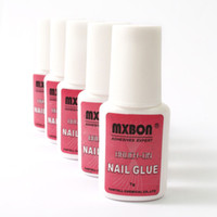 Nail Gel 6.5 * 2.5 * 1.7cm 7g Free Shipping Dropshipping 7g PRO NAIL GLUE With BRUSH False French ACRYLIC Tips 20pcs lot