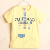 4T-5T 90-100-110-120-130 Round Neck Fashion Round Neck Shirts Child Short Sleeve T Shirt Kids Cute Cartoon Printed Shirts Boys Summer Casual T Shirt Children T Shirts Tee Shirt