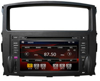 Wholesale Car DVD Player for Mitsubishi pajero V97 with GPS Car Radio Video CanBus BT TV FM IPOD RDS G SD Map