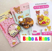 Wholesale Cute cartoon bear Earphone Winder Wire holder