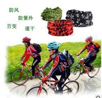 Wholesale Multifunctional Seamless Magic Outdoor Cycling Headscarf Sunscreen Fashion Scarf neckerchief headband