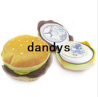Wholesale disc Hamburger CD DVD Storage Holder Case Bag Wallet