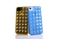 Wholesale For Bling Crystal iPhone Case For iPhone4S Case Fashion Case For iPhone S