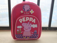 Wholesale peppa pig children s school bags backpacks schoolbag Backpack peppa pig