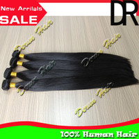 Wholesale Hot Sale Derun Hair Mix quot quot inch Indian Virgin Human Hair Weave Hair Weft Silky Straight Hair Extensions