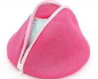 Wholesale PADDED LINGERIE UNDERWEAR WASH BAG Separates Protects Bras Mesh cloth bra bag protecting clothing