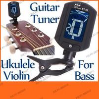 Wholesale LLFA562 LCD Digital Bass Violin Ukulele Guitar Tuner