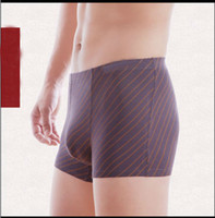 Wholesale Sexy U Convex printing top men s underwear boxer shorts comfortable bamboo fiber fabric men Underpants