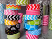 washi tape - 50pieces Hot selling Freeshipping M Decoration washi tape mask tape gift packing album DIY masking sticker chevron polk dot style