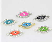 Wholesale Hand made bracelets accessories shiny rhinestones hand eye Fitting jewrlry LM PS010