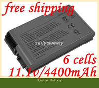 Wholesale Special Price New laptop battery for Dell Latitude D500 D505 D510 D520 D600 D610 D530 Series Replace P894 C1295 R305 battery