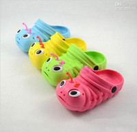 Wholesale 2013 Summer Clearance Specials Super cheap children sandals baby Caterpillars slippers Beach shoes bn