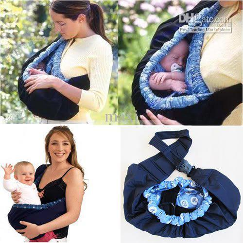 Baby Toddler Newborn Cradle Pouch Ring Sling Carrier Stretch Wrap ...
