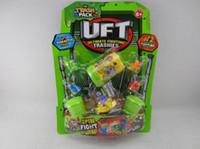 Wholesale hot sale TRASH PACK UFT Trash rubber toys funny toys for kids Burpy Slurpy Grotty Coffee set assy