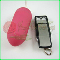 Unisex wireless vibrating bullet - 10 speed Wireless Jump Eggs Remote control Vibrating bullet egg vibrator Sex Toy Sex products Adult toy