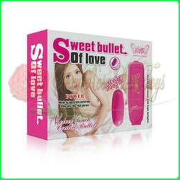 Wholesale Vibrating bullet Vibration Egg Sex Vibrator massager Adult Sex toys for Woman Sex products