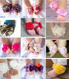 Wholesale 2013 hot selling baby shoes flower TOP BABY Sandals baby Barefoot Sandals Colorful baby shoes Toddler flower Shoes erbaby