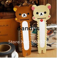 Wholesale Cute Bear cable winder Moblie Earphone bobbin winder cable management
