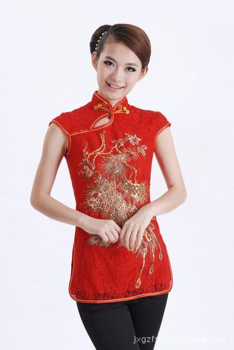 Asian Blouse 109