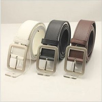 Wholesale 2013 Fashion Stylish Faux Leather Metal Buckle men Belt belts for women
