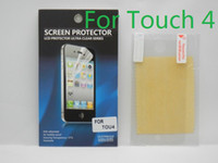 Wholesale Anti Scratch Ultra Clear Screen Protector Screen Guard Protective Film With Retail Package For Apple iPod Touch