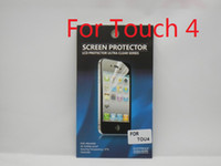Wholesale Ultra Clear Screen Protector Screen Guard Protective Film For Apple iPod Touch For Sample Cloth Retail Package