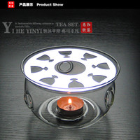 Wholesale Glass Tealight Warmer Base for Teapot glass warmer glass teapot warmer