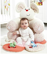 babies nest - ELC Blossom Farm Sit Me Up Cosy Baby Seat Baby Play Mat Play Nest Baby Soft Sofa FUNNY ASS
