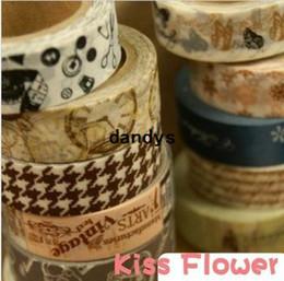 Wholesale New High quality European vintage series washi masking tape adhesive tape washi tape