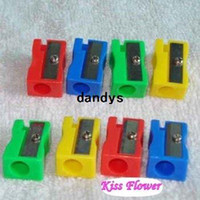 China (Mainland) pencil sharpener - New style Stationery Candy color mini Pencil Sharpener pencil cutter