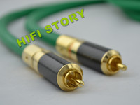 Wholesale McIntosh RCA interconnect cable Analog Audio Interconnect with Carbon RCA Connector