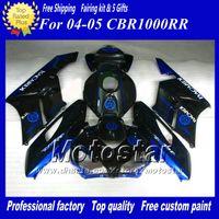 For Honda bacardi gifts - 7 gifts BACARDI blue black Injection mold ABS Fairings for HONDA CBR1000RR CBR1000 RR CBR RR