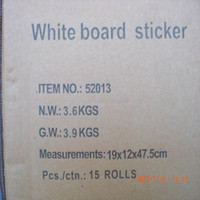 Wholesale 45cm cm whiteboard stickers dry erase board sticker lovely chiledren gift